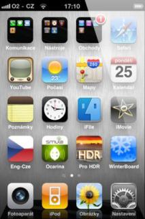 IPhone 4 Steel Mobile Theme