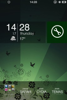 Mnml Green Mobile Theme