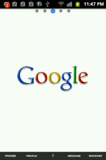 Google Search Android Theme Mobile Theme