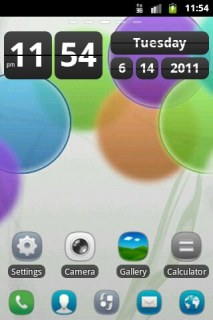 Nokia Colors Clock Android Theme Mobile Theme