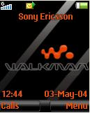 Walkman Red Mobile Theme