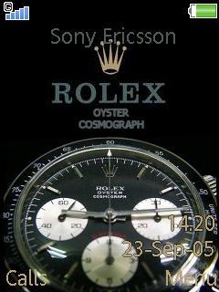 Rolex Mobile Theme