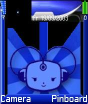 Blue Plastik Theme Mobile Theme