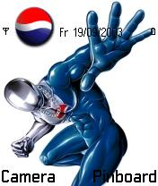 Pepsi Man Mobile Theme