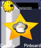 Monkey Theme Mobile Theme