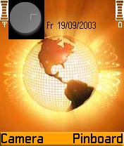 Orange World Mobile Theme