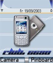 Club 6680 Mobile Theme