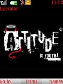 Attitude Is Youth Mobile Theme