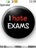 Hate Exams Mobile Theme