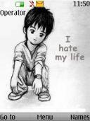 Hate Life Mobile Theme
