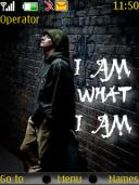 I Am What I Am Mobile Theme