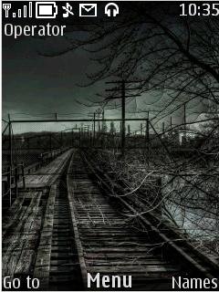 Train Track Mobile Theme