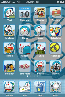 Doraemon Theme Mobile Theme