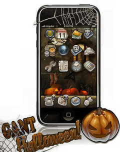 Ganthalloween Mobile Theme