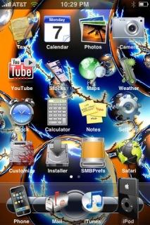 Keith IPhone Theme Mobile Theme