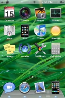 Leopard Official Osx Apple IPhoneTheme Mobile Theme