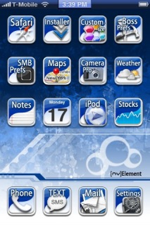Nv Element IPhone Theme Mobile Theme