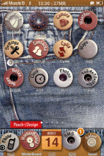 Jeans Apple Iphone Theme Mobile Theme