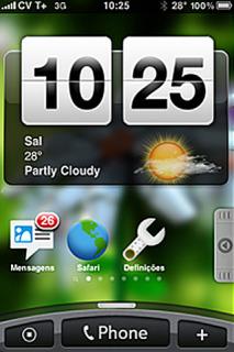 HTC Hero IPhone Theme Mobile Theme