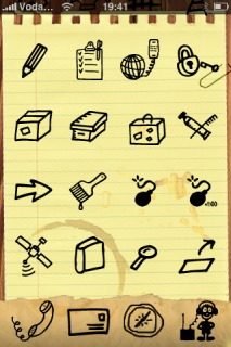 Sketchnote Apple IPhone Theme Mobile Theme
