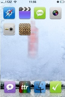 IPhone Vokda Red Apple Theme Mobile Theme