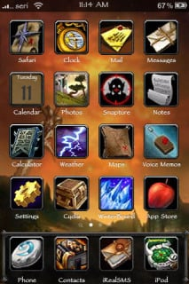 IWow Apple IPhone Theme Mobile Theme