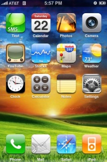 Meadow Apple IPhone Theme Mobile Theme