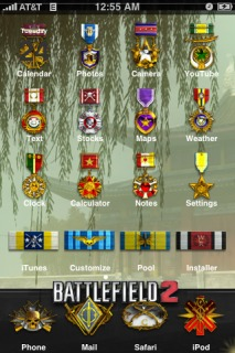 Battle Field Apple IPhone Theme Mobile Theme