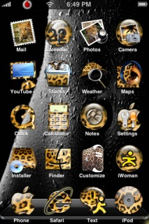 Leopard Apple IPhone Theme Mobile Theme