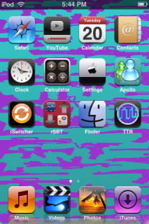 Mutalation Apple IPhone Theme Mobile Theme