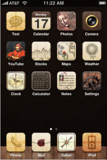 Renaissance IPhone Theme Mobile Theme