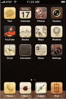 Renaissance IPhone Theme Mobile Theme