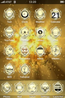 Supernova Theme Mobile Theme