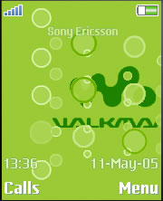 Walkman Buble Theme Mobile Theme