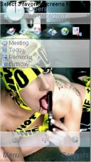 Lady Gaga Mobile Theme