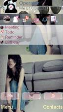 Waiting Alone Mobile Theme