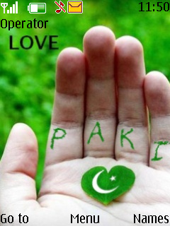 Pakistan Love Theme Mobile Theme