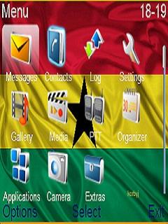 Ghana Mobile Theme