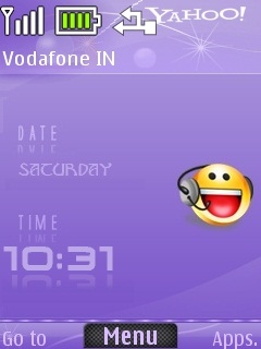 Yahoo Messenger Mobile Theme