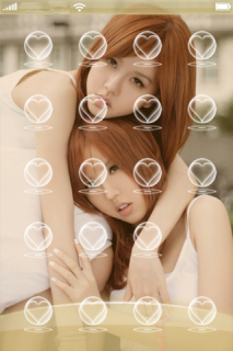 Beautiful Young Chines Girls IPhone Theme Mobile Theme