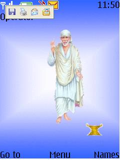 Sai Baba Mobile Theme