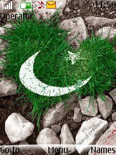 Love Pakistan Theme Mobile Theme