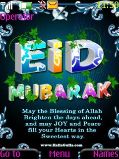 Eid Mubarak Nokia Theme Mobile Theme