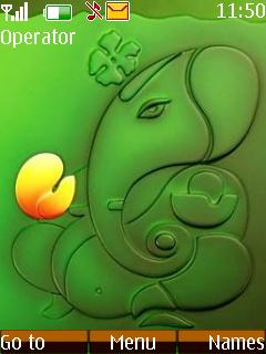 Lord Ganesh Mobile Theme