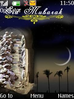 Eid Mubarak Mobile Theme