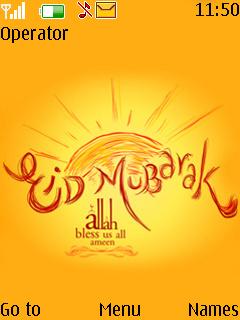 Eid Day Mobile Theme