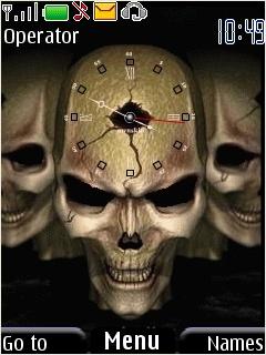 Skull Nokia Theme Mobile Theme