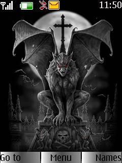Gothic Mobile Theme