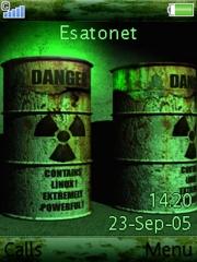Danger Mobile Theme