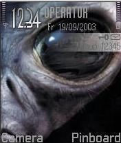 Alien Mobile Theme